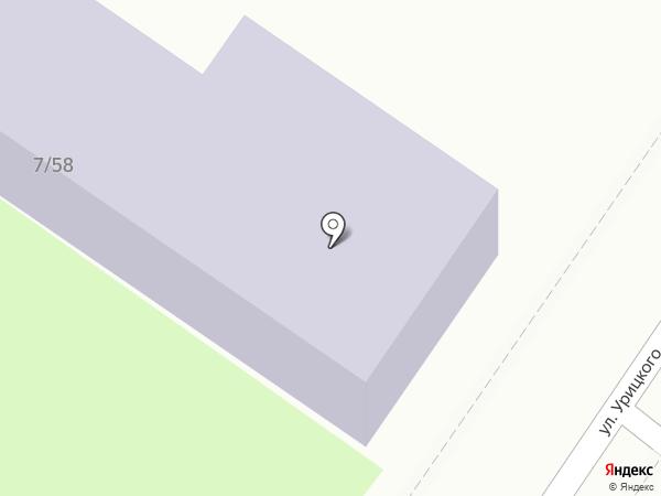 Детский сад №15 на карте Астрахани
