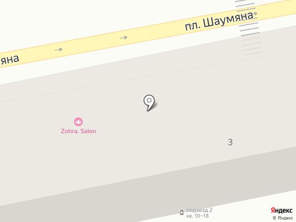 Нотариус Неронова Т.М. на карте Астрахани