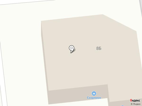Магазин автотоваров на карте Астрахани