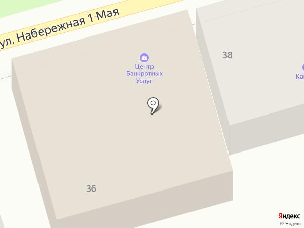 АДВЕРТА на карте Астрахани