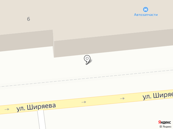 Магазин крепежных изделий на карте Астрахани