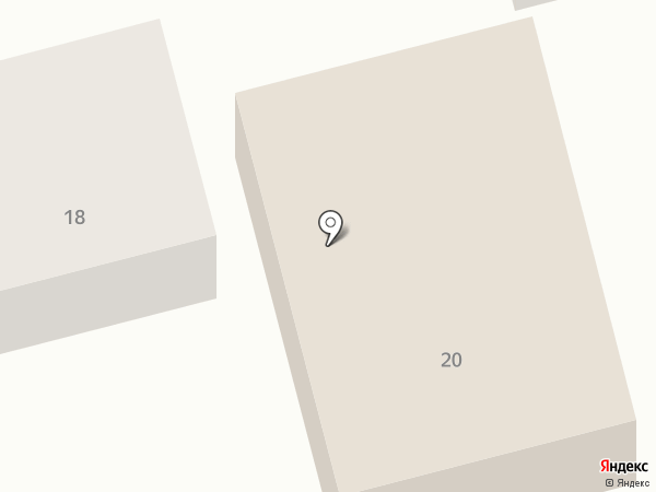 Детский сад №43 на карте Астрахани