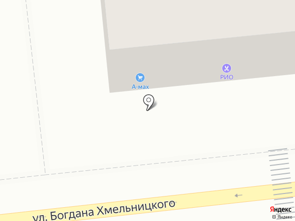 Много окон на карте Астрахани