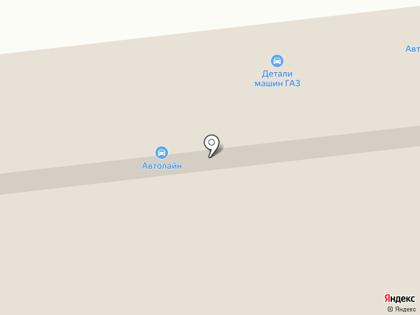 Астраханский таксомоторный парк, ПАО на карте Астрахани