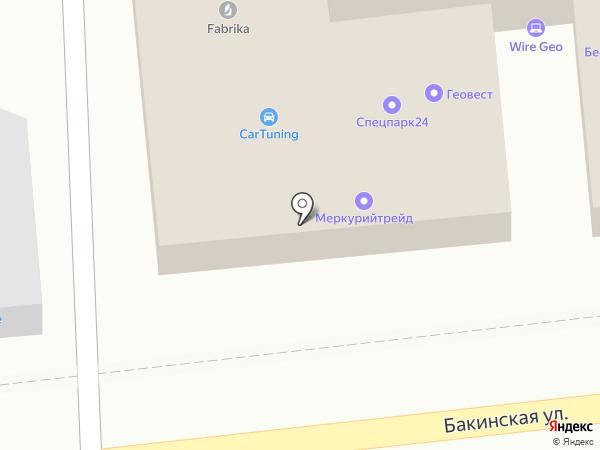 МеркурийТрейд на карте Астрахани