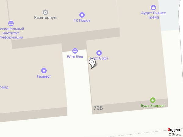 Passerotto на карте Астрахани