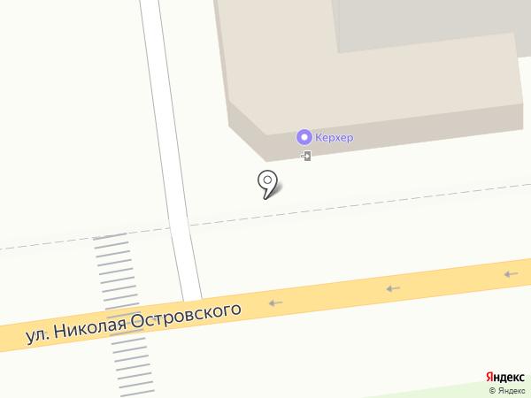 Кристофер на карте Астрахани