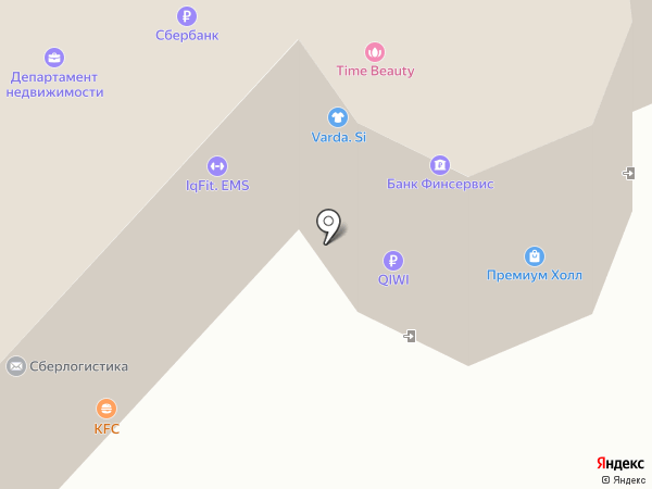 ASD на карте Астрахани