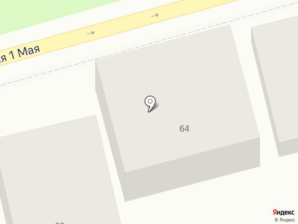 Витязь А на карте Астрахани