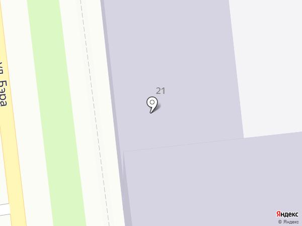 Средняя общеобразовательная школа №11 им. Г.А. Алиева на карте Астрахани