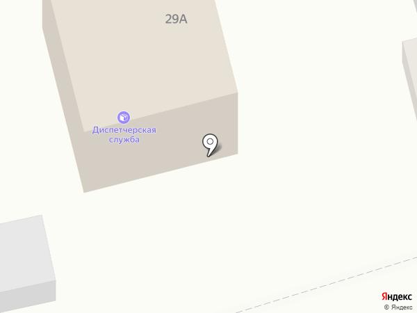 Единая диспетчерская служба по грузовому транспорту и спецтехнике на карте Астрахани
