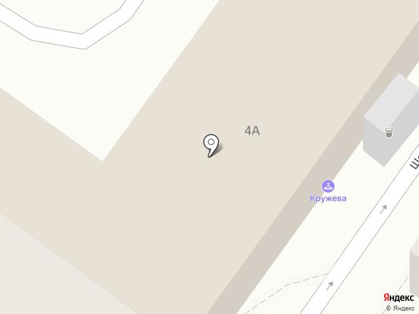 Кружева на карте Астрахани