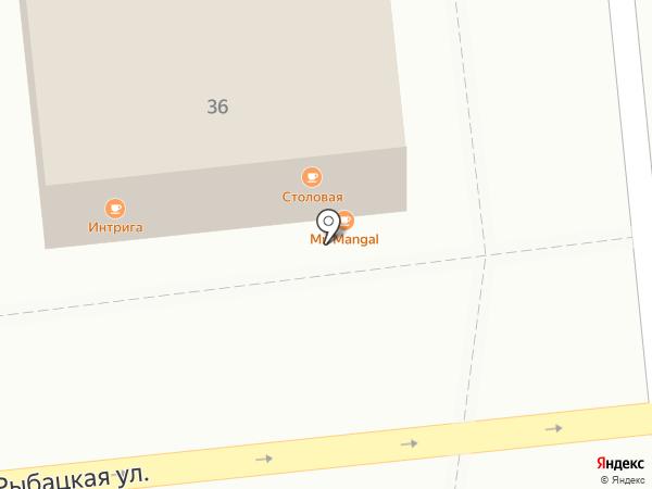 Mc Doner на карте Астрахани