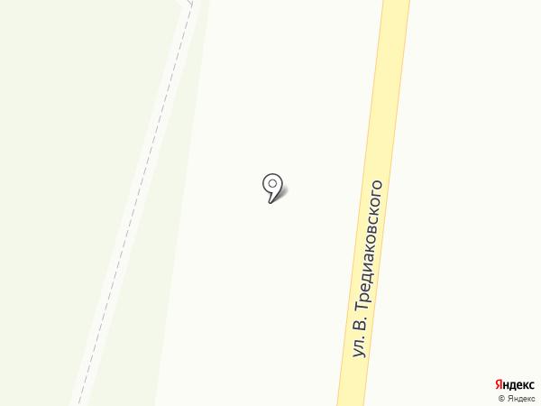 Астраханский государственный ансамбль песни и танца на карте Астрахани