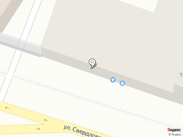 Ателье по пошиву одежды и штор на карте Астрахани