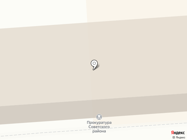 Прокуратура Советского района г. Астрахани на карте Астрахани