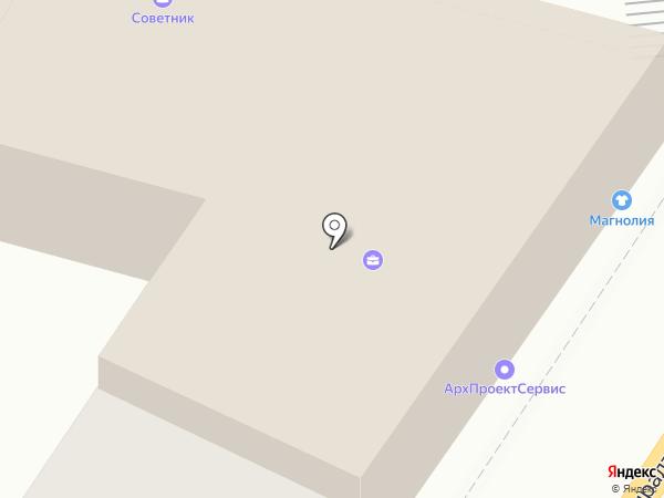 Астраханская городская территориальная организация профсоюза работников народного образования и науки РФ на карте Астрахани