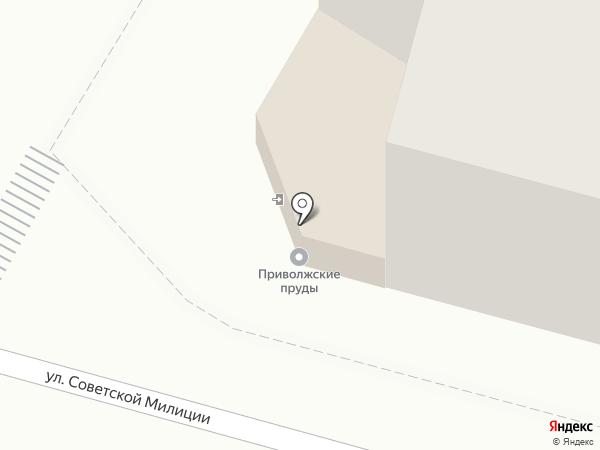 АСТРАстудио на карте Астрахани