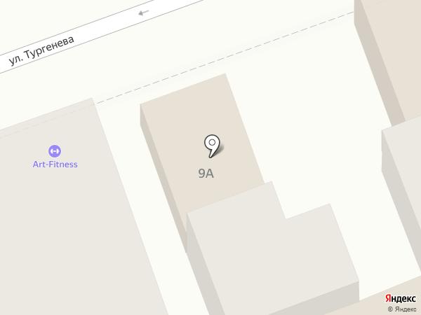 Кроха на карте Астрахани