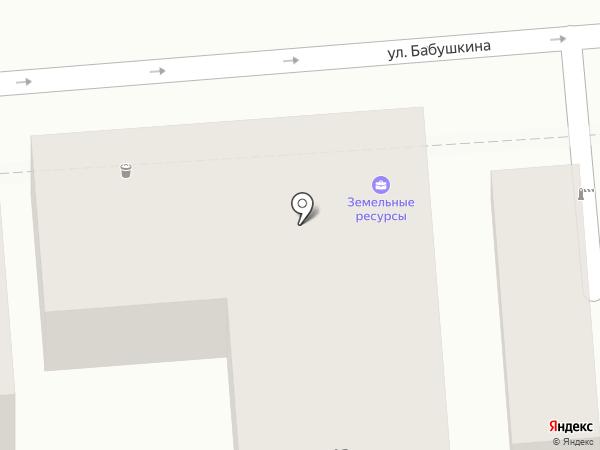 Земельные ресурсы на карте Астрахани