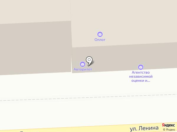 Виноградная лоза на карте Астрахани