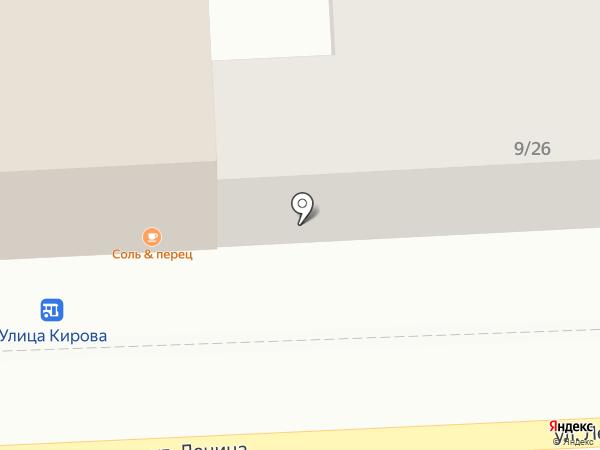 Единая Россия на карте Астрахани