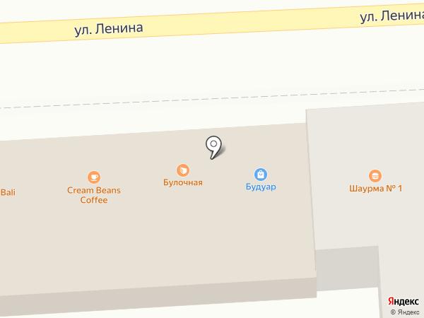 Будуар на карте Астрахани