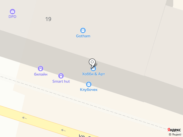 Связной на карте Астрахани