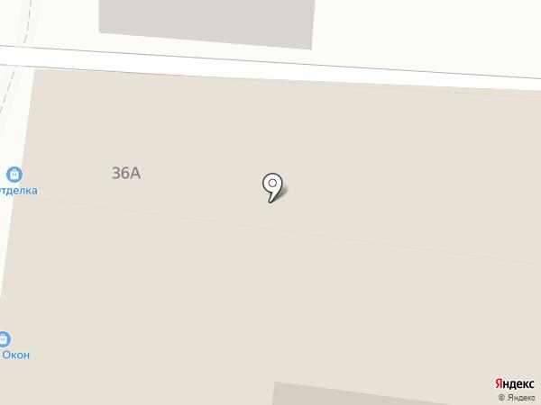 Отделка на карте Астрахани