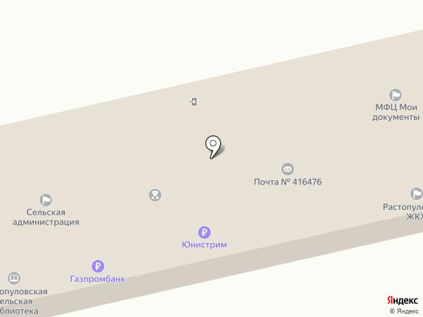 Растопуловская ветеринарная участковая лечебница на карте Растопуловки