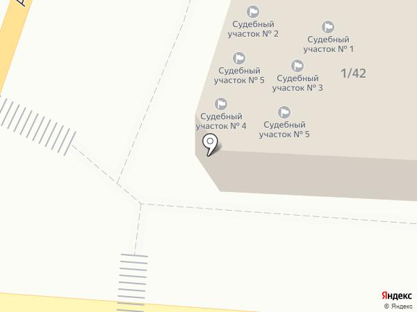 Судебный участок Кировского района на карте Астрахани