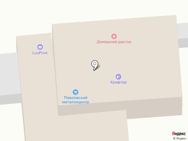 Сакура на карте Астрахани