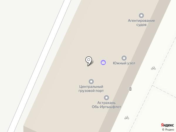 ТАИС на карте Астрахани
