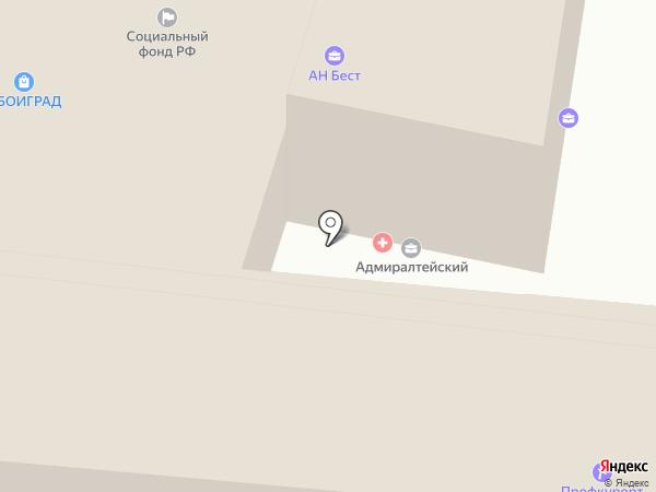 ШАМС на карте Астрахани