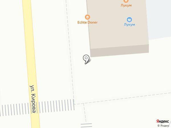 Beeline на карте Астрахани