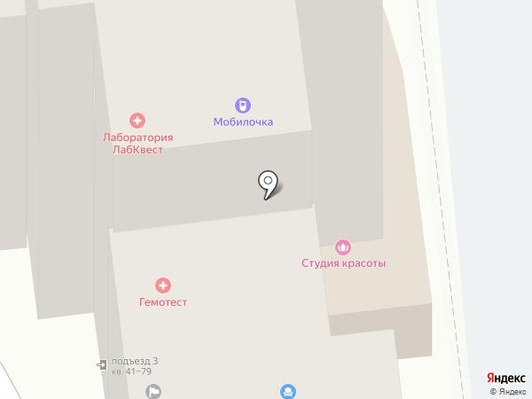 Элита-Мск на карте Астрахани