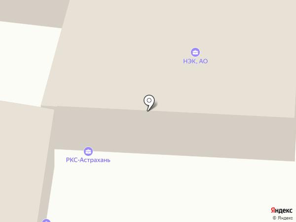 Астфлотресурс на карте Астрахани