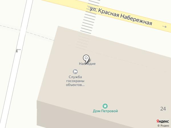 Служба государственной охраны объектов культурного наследия Астраханской области на карте Астрахани