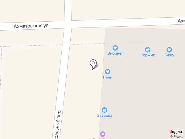 Пани на карте Астрахани