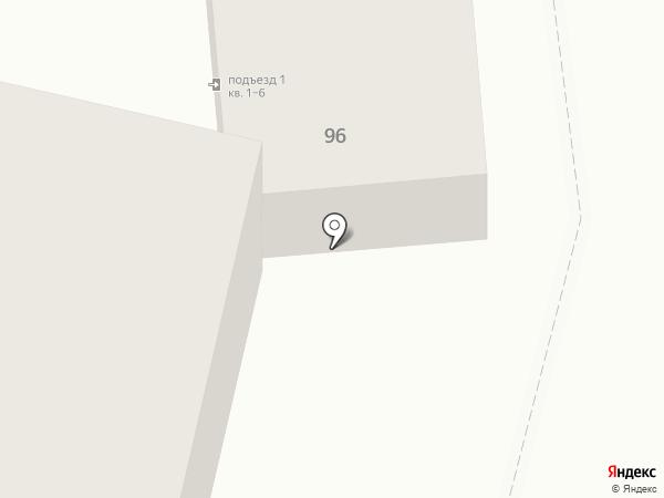 Верис на карте Астрахани