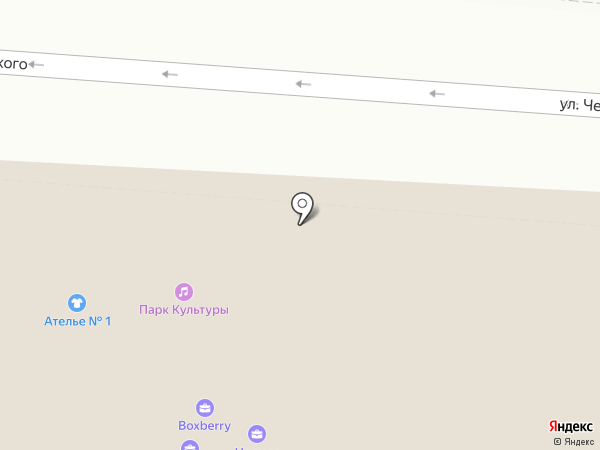 Парк культуры на карте Астрахани