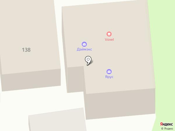 АМД-сервис на карте Астрахани