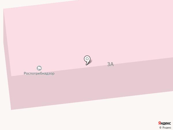 Астраханская противочумная станция на карте Астрахани