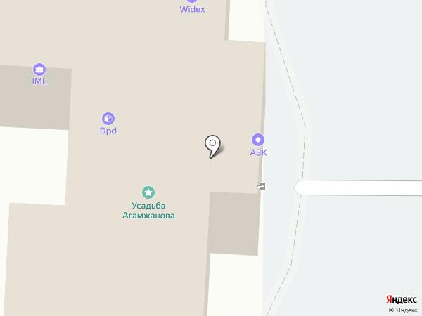 Центр регистрации юридических лиц и индивидуальных предпринимателей, АНО на карте Астрахани