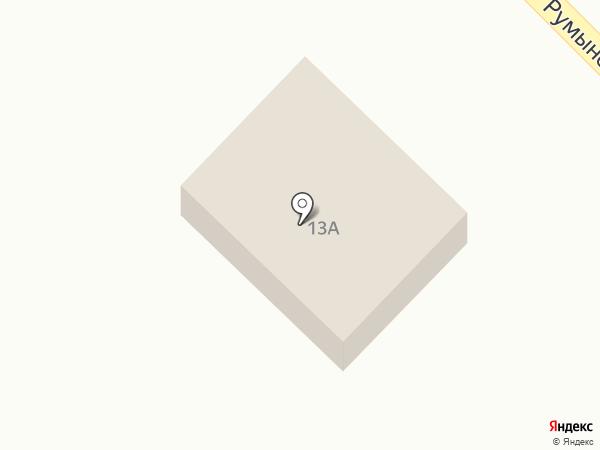 Лилия на карте Растопуловки