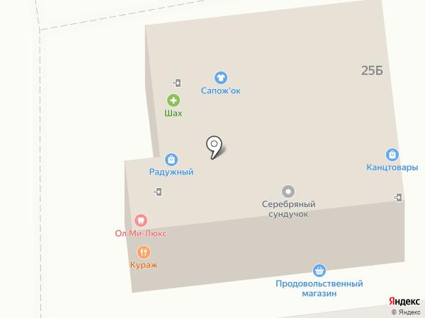 Мастерская на карте Астрахани