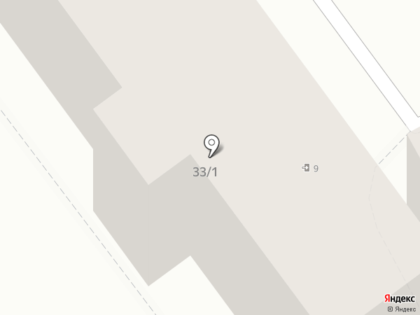 Пивтур на карте Астрахани