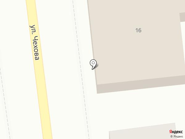 Дорожное радио Астрахань, FM 106.0 на карте Астрахани