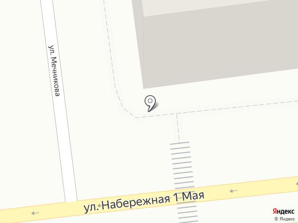 Киоск печатной продукции на карте Астрахани