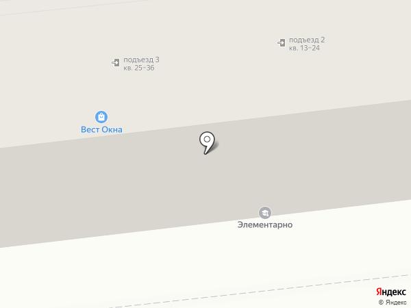 Печатный Дом на карте Астрахани